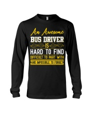 AN AWESOME BUS DRIVER  Long Sleeve Tee thumbnail