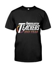 KINDERGARTEN END YEAR Classic T-Shirt front