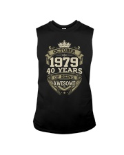 HAPPY BIRTHDAY OCTOBER 1979 Sleeveless Tee thumbnail