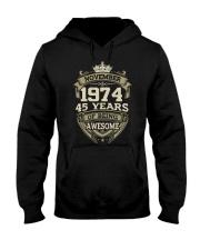 APPY BIRTHDAY NOVEMBER 1974 Hooded Sweatshirt thumbnail