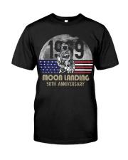 MOON LANDING ANNIVERSARY Classic T-Shirt thumbnail