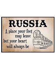 WE LOVE RUSSIA 17x11 Poster front