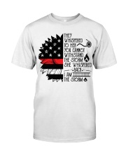 FIREFIGHTER IS THE STORM Classic T-Shirt tile