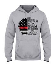 FIREFIGHTER IS THE STORM Hooded Sweatshirt thumbnail