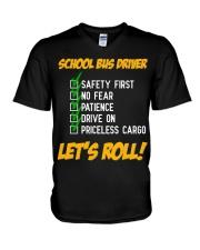 LET'S ROLL V-Neck T-Shirt thumbnail