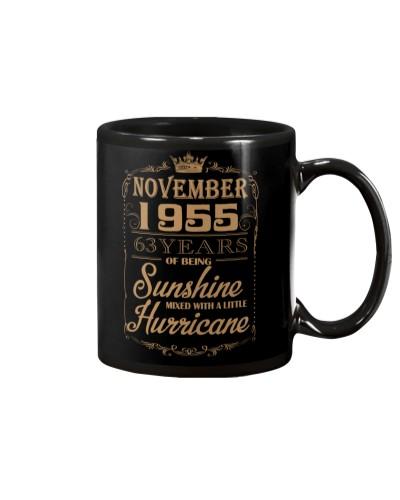 HAPPY BIRTHDAY NOVEMBER 1955
