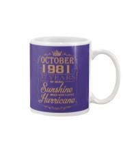 OCTOBER 1981 OF BEING SUNSHINE AND HURRICANE Mug thumbnail