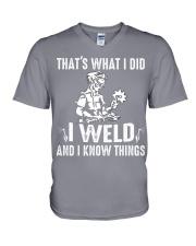 WELDER WOMAN EDITION V-Neck T-Shirt thumbnail