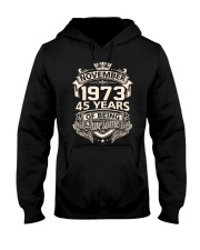 HAPPY BIRTHDAY NOVEMBER 1973 Hooded Sweatshirt thumbnail