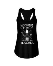 TEACHER CAN REMAIN CALM Ladies Flowy Tank thumbnail