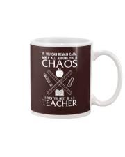 TEACHER CAN REMAIN CALM Mug thumbnail