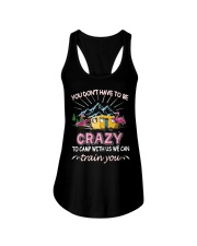 CAMPING TOGETHER Ladies Flowy Tank thumbnail