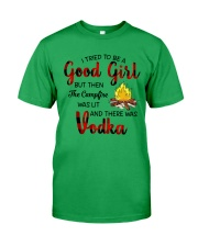 I TRIED TO BE A GOOD GIRL Classic T-Shirt tile