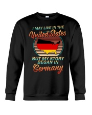 GERMANY STORY Crewneck Sweatshirt front