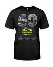 MOON LANDING 1969-2019 Classic T-Shirt front