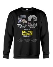 MOON LANDING 1969-2019 Crewneck Sweatshirt thumbnail