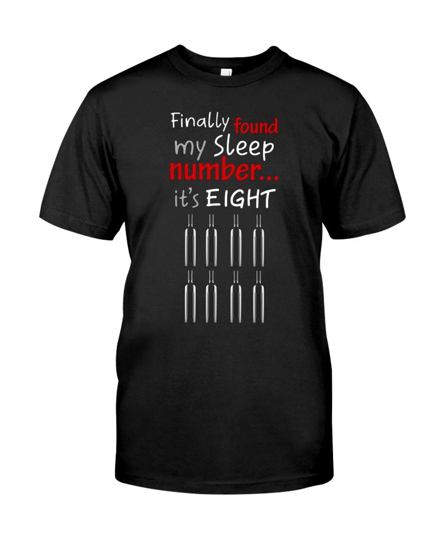 MY SLEEP NUMBER 8 BOTTLES Classic T-Shirt