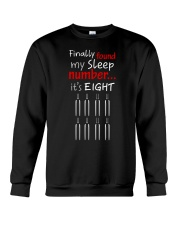 MY SLEEP NUMBER 8 BOTTLES Crewneck Sweatshirt thumbnail