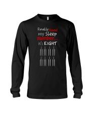 MY SLEEP NUMBER 8 BOTTLES Long Sleeve Tee thumbnail