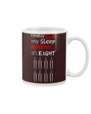 MY SLEEP NUMBER 8 BOTTLES Mug thumbnail