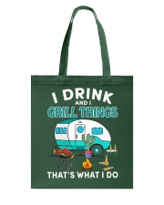 THAT'S WHAT I DO Tote Bag tile