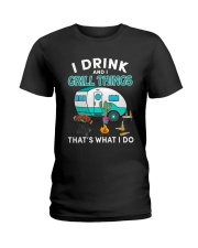 THAT'S WHAT I DO Ladies T-Shirt thumbnail