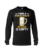 MY GLASS IS EMPTY Long Sleeve Tee thumbnail