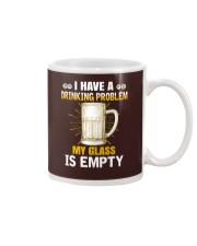 MY GLASS IS EMPTY Mug thumbnail