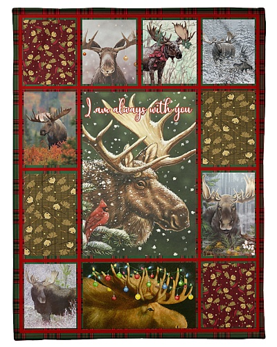Nice blanket for moose lovers