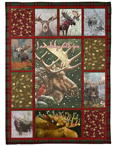 Nice blanket for moose lovers