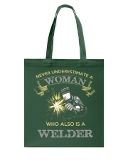 WELDER WOMAN EDITION Tote Bag thumbnail