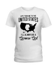ALWAYS BE A GERMAN GIRL Ladies T-Shirt thumbnail