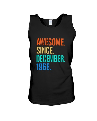 AWESOME SINCE DECEMBER 1968