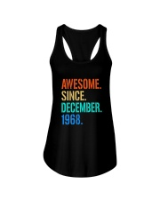 AWESOME SINCE DECEMBER 1968 Ladies Flowy Tank thumbnail