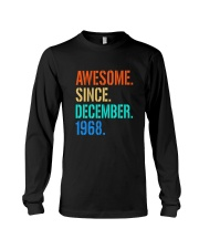 AWESOME SINCE DECEMBER 1968 Long Sleeve Tee thumbnail