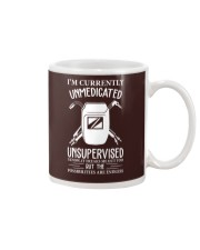WELDERS UNMEDICATED AND UNSUPERVISED Mug thumbnail