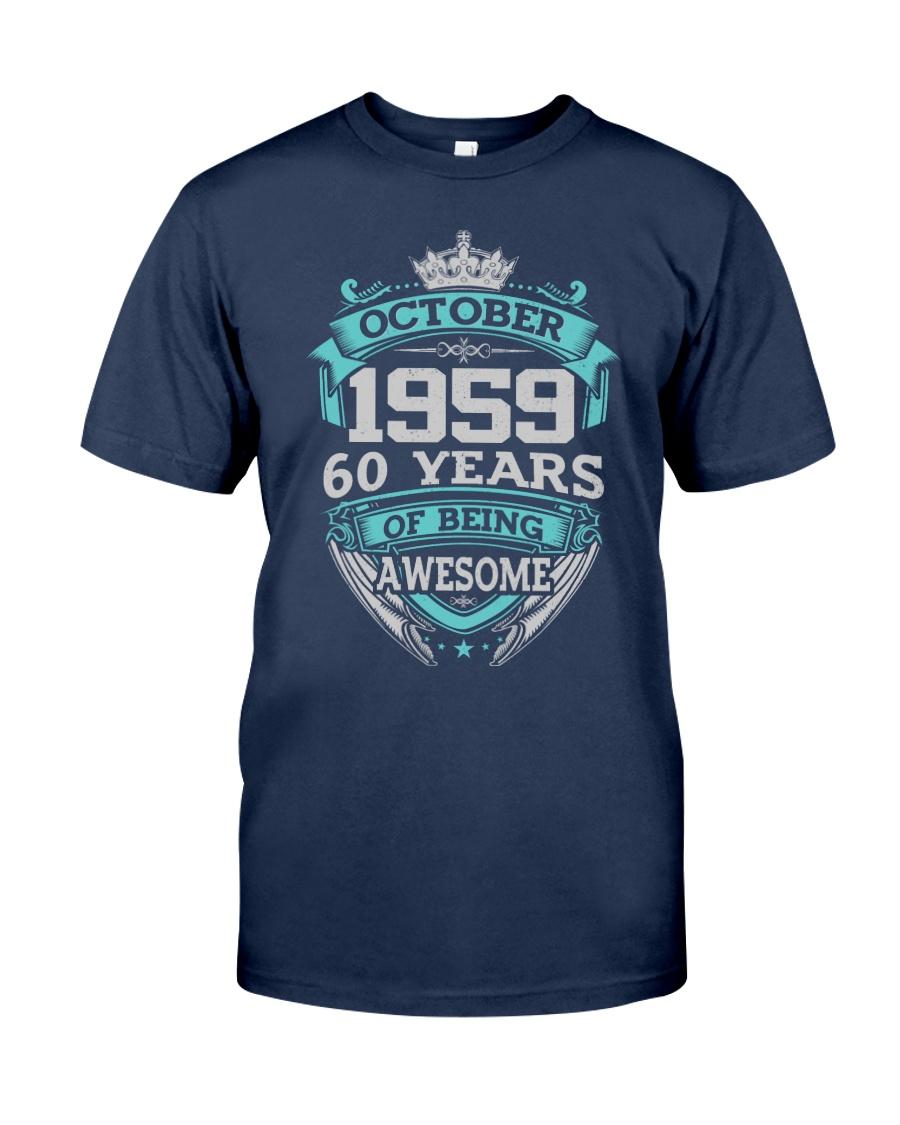 HAPPY BIRTHDAY OCTOBER 1959 Classic T-Shirt
