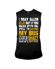 DON'T MESS WITH BUS DRIVER Sleeveless Tee thumbnail