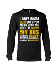 DON'T MESS WITH BUS DRIVER Long Sleeve Tee thumbnail