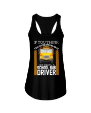 TRY BEING A SCHOOL BUS DRIVER Ladies Flowy Tank thumbnail