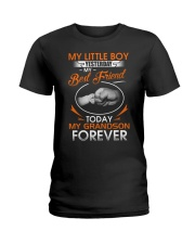 MY GRANDSON FOREVER Ladies T-Shirt thumbnail