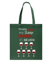 MY SLEEP NUMBER 7 CUPS Tote Bag thumbnail