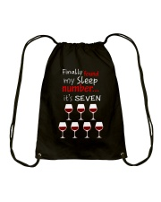 MY SLEEP NUMBER 7 CUPS Drawstring Bag thumbnail