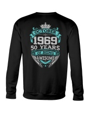 HAPPY BIRTHDAY OCTOBER 1969 Crewneck Sweatshirt thumbnail