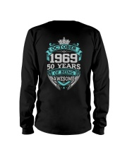 HAPPY BIRTHDAY OCTOBER 1969 Long Sleeve Tee thumbnail
