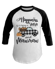 THE HAPPINESS OF MAWMAW Baseball Tee thumbnail