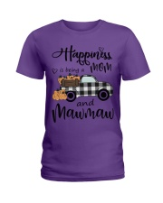 THE HAPPINESS OF MAWMAW Ladies T-Shirt thumbnail