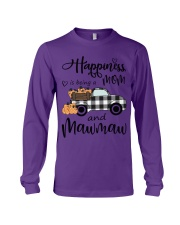 THE HAPPINESS OF MAWMAW Long Sleeve Tee thumbnail