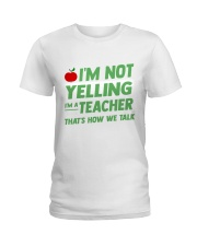 TEACHERS EDITION Ladies T-Shirt tile