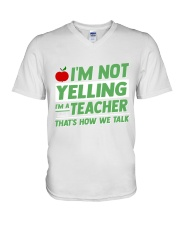 TEACHERS EDITION V-Neck T-Shirt tile